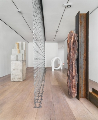 Carol Bove - The Plastic Unit - David Zwirner - London