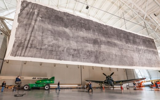 The Great Picture - 3000 Square foot photograph at The Smithsonian National Air and Space Museum
